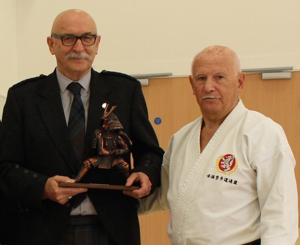 Albert Thomson with Ronnie Watt