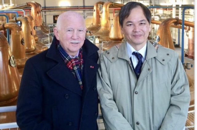 Ronnie Watt with Dr.  Ikuo Yamamoto